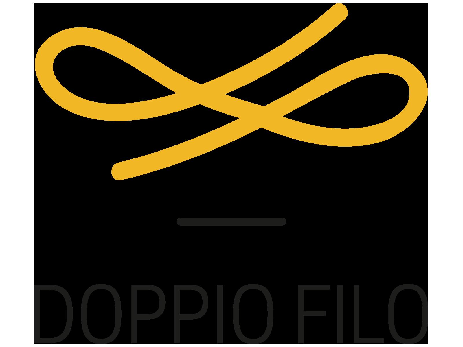 logo studio doppiofilo design educazione romans d isonzo gorizia